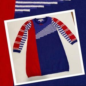 Fox & Finch Baby Knit Dress size 1-2 wool blend